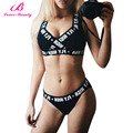Lover Beauty High Quality Summer Underwear Set Women Sexy Bras Printed Fly High Push Up Bra Sets Lingerie Bra and Brief Sets-C