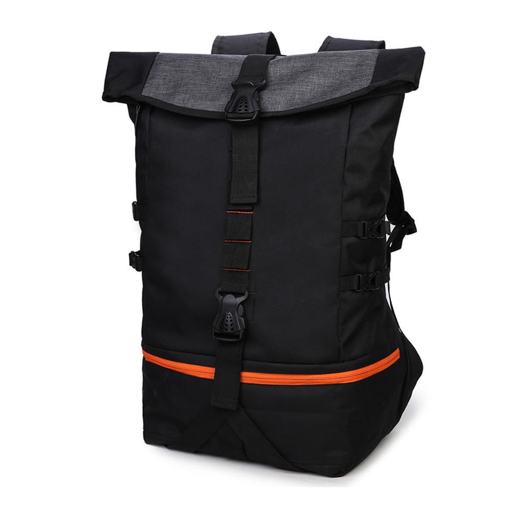 Outdoor Men Multifunction Big Capacity Basketball Backpack Rugby Sports Hiking Double Shoulder Bag Laptop Rucksack Training Pack