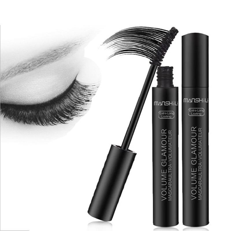 Professional Volume Curled Lashes Black Mascare Waterproof Curling Tick Eyelash Lengtheing Eye Makeup Mascara M02297