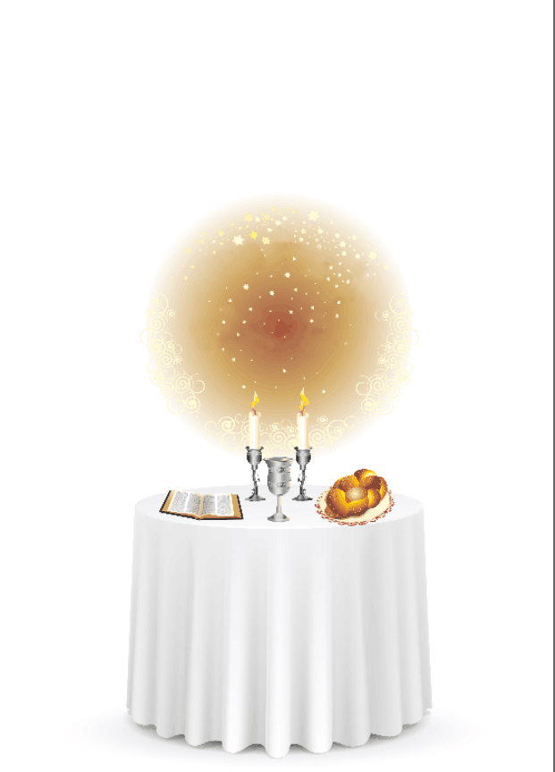 5x7FT White Tablecloth Dinner Table Bread Candles Baby Shower Custom  Photography Studio Background Backdrop Vinyl 150cm X 220cm
