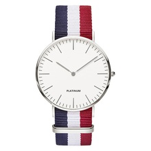 classic brand relogio feminino Ladies casual Quartz watch men women Nylon strap Dress watches women watch Bear Relojes hombre
