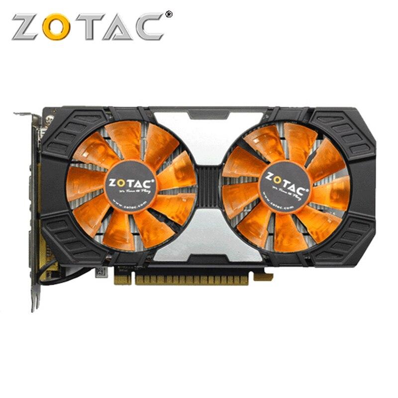Carte graphique ZOTAC GTX 750Ti 2 go carte graphique GPU VGA carte graphique GeForce GTX 750 Ti 2 go pour NVIDIA HDMI DVI Videocard 128Bit
