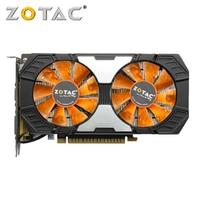 ZOTAC GTX 750Ti 2GB Video Card GPU VGA Map Graphics Cards GeForce GTX 750 Ti 2GB For NVIDIA HDMI DVI Videocard 128Bit