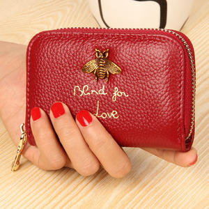 Genuine Leather Card Holder Wallet Credit Card Case