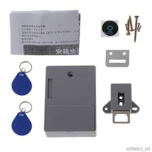 Invisible Hidden RFID Locks for Cabinets Hidden DIY Lock Electronic Cabinet Lock(China)