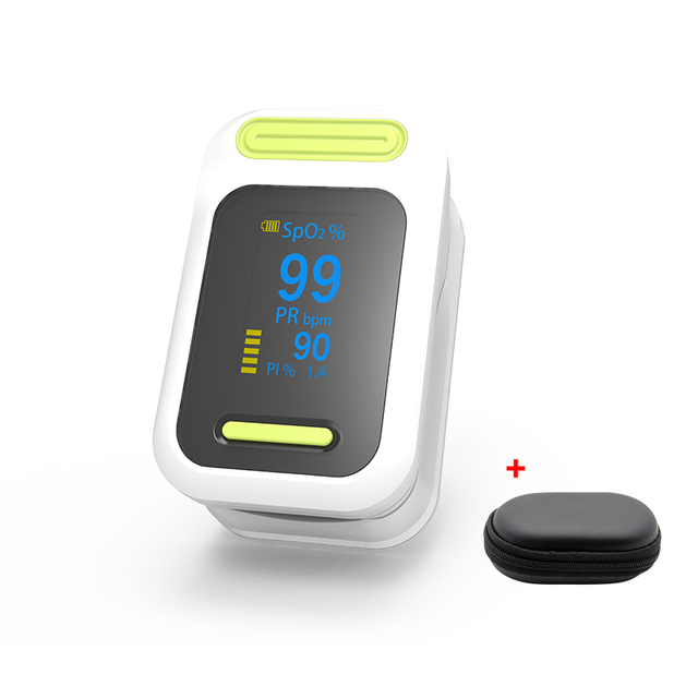BOXYM Medical digital Finger Pulse Oximeter blood oxygen Heart Rate PI Saturation Monitor OLED CE Portable Oximetro De Pulso 1