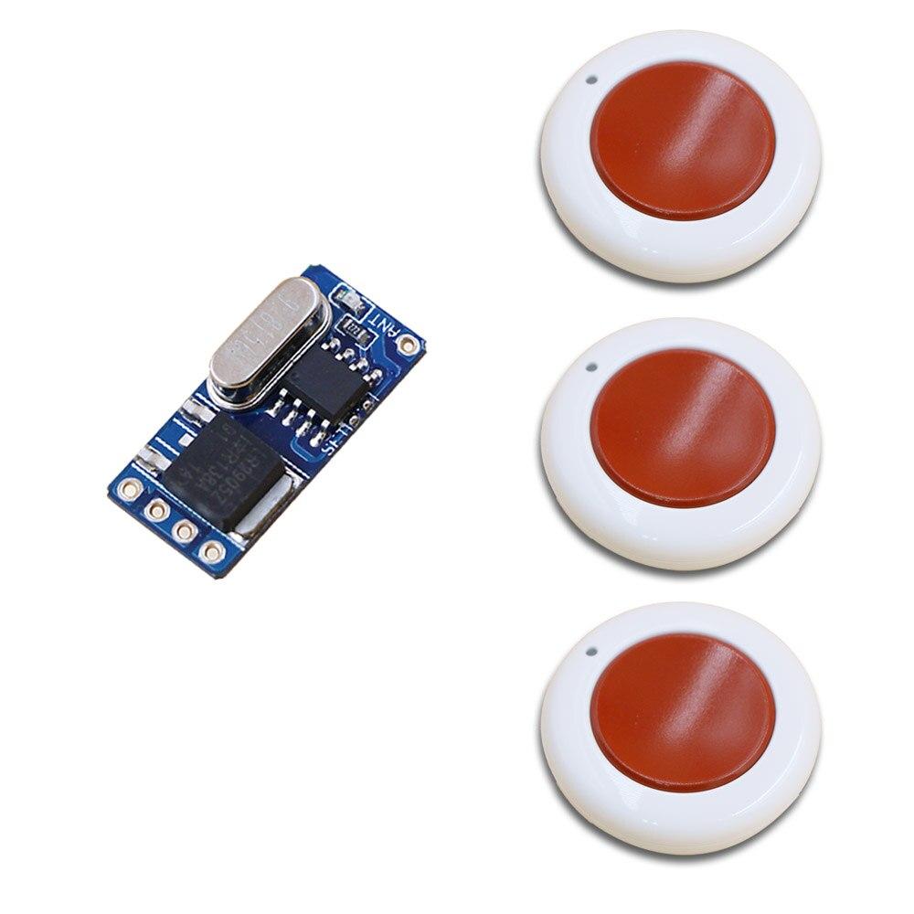 Multifuction Tipo DC3.5V 4.5 V 5 V 6 V 7 V 9 V 12 V Interruptor de Control Remot