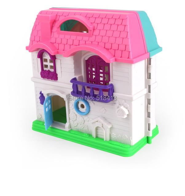 Brincar de casinha brinquedos terno Frasier tema casa villa brinquedos da menina da criança