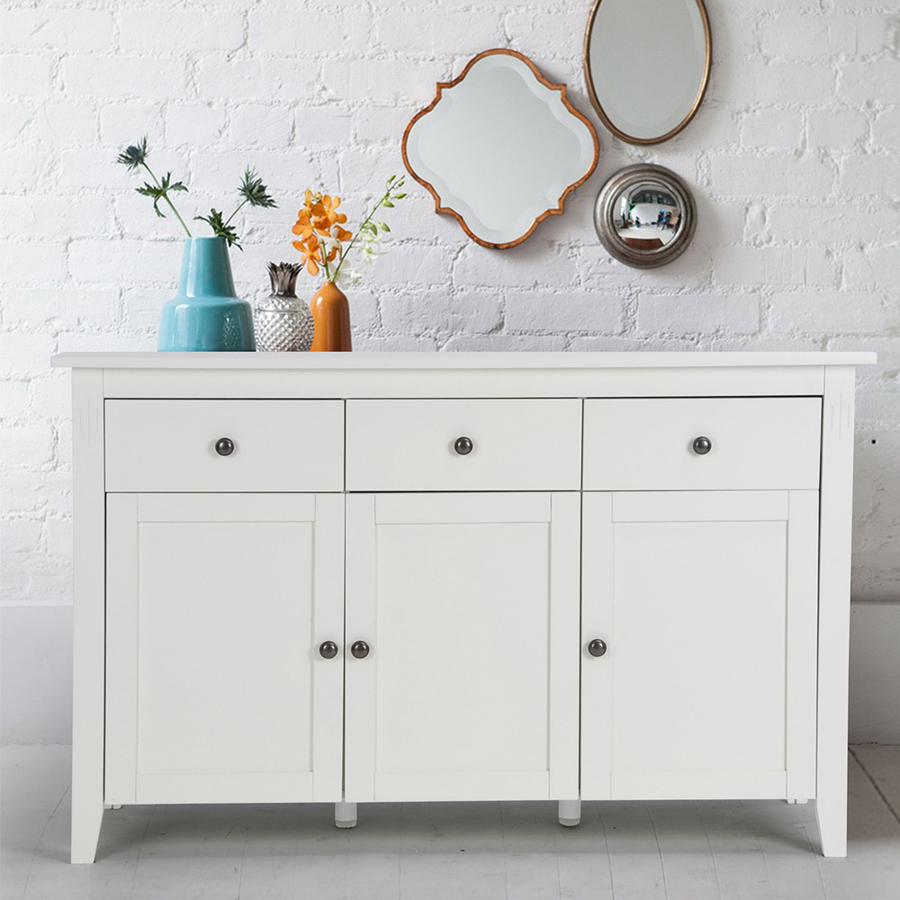 Aingoo Large Space White Minimalist Modern Sideboard/Living Room Cabinets  For Dining Room And Living Room Modern Home Furniture In Sideboards From  Furniture ...