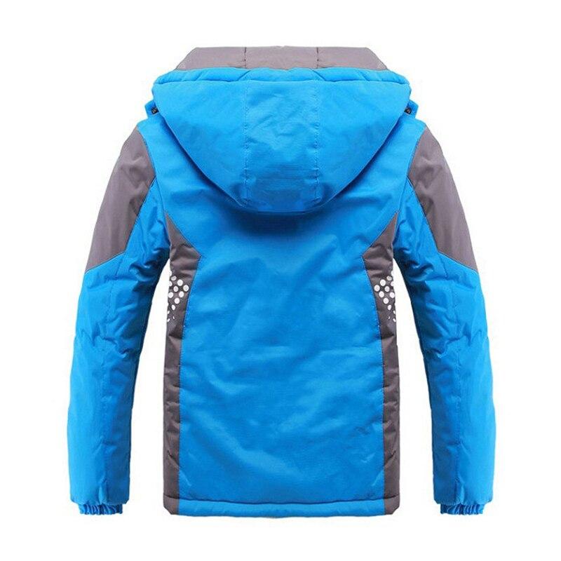 9fc91890bb9d Children Outerwear Warm Coat Sporty Kids Clothes Double Deck ...