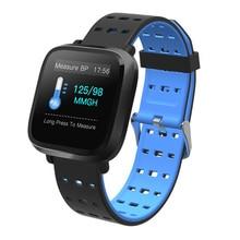 Купить с кэшбэком RUIJIE Y8 Smart Watch Multi-sports Modes IP67 Waterproof Fitness Bracelet Heart Rate Blood Pressure Monitoring Men Smartwatch