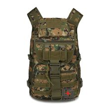 Camo Camping Bags Outdoor Waterproof Molle System Backpack Assault Trevel pack Military Tactical