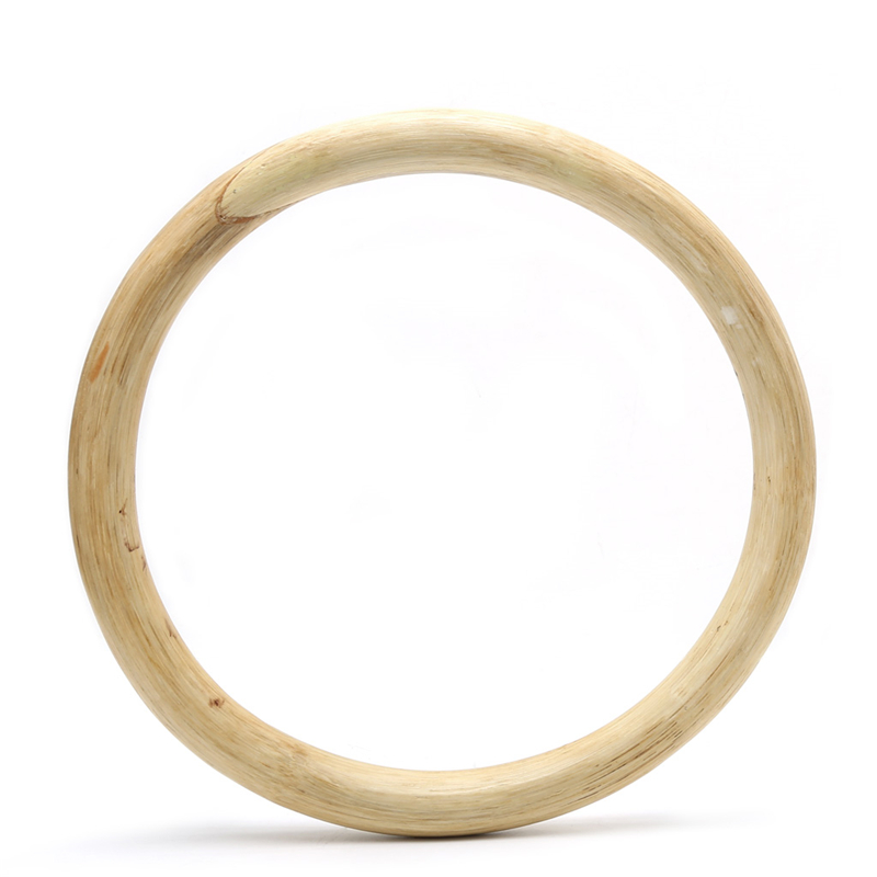 Wooden Hard Chinese Kung Fu Wing Chun Hoop Wood Rattan Ring Sticky Hand Strength Training New Durable Ciucular Tools 26.5cm