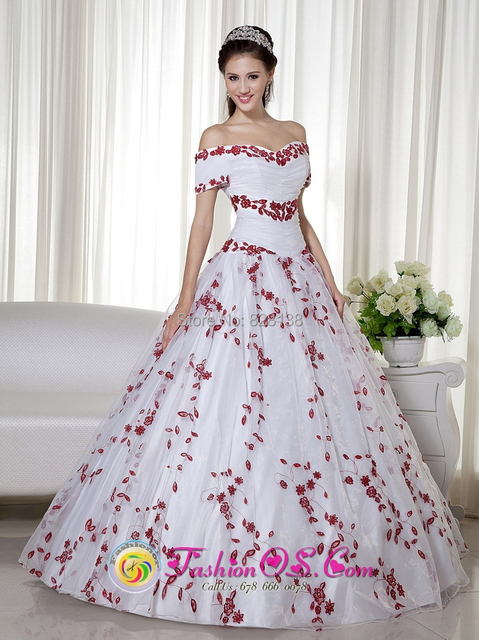 2014 Red Ball Gown Dress for 15 Years Sweetheart Debutante Gown ...