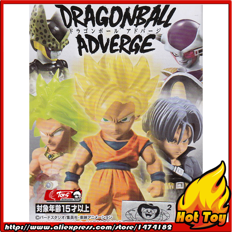 Original BANDAI Tamashii Nations ADVERGE 01 Collection Figure - Son Goku & Trunks & Cell & Freeza & Broly from Dragon Ball lacywear dgd 7 avn
