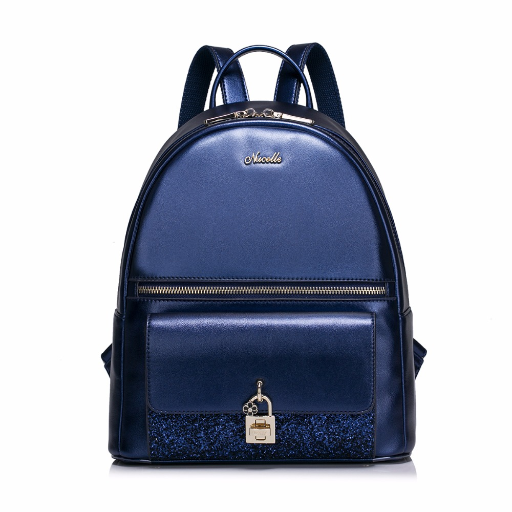цены Hot Sale Women's Fashion Flower Lock Flash PU Leather Casual Ladies Girls Student Backpacks Daypacks Shoulders Travel School Bag