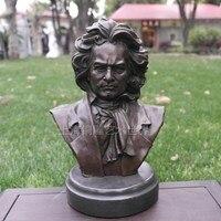 Beethoven copper sculpture sculpture crafts bronze statue art decor decoration musicians Home Furnishing gift