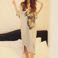 2018 New summer style Nightgown Nightdress pijama Ladies Sleepwear Women nightwear AZ670