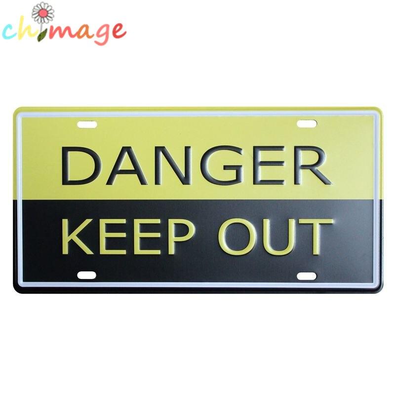 Предупреждающий предупреждение автомобиль пластины Винтаж Олово Вход Бар паб дома Декор стены Ретро Металл Книги по искусству плакат