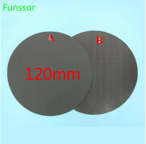Sincere Round Magnetic Adhesive Print Bed Tape 120mm Print Sticker Build Plate Tape Flexplate For Diy Kossel/delta 3d Printer Parts Promoting Health And Curing Diseases 3d Printer Parts & Accessories