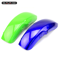 For KAWASAKI ZRX400 ZR400 ZRX II 1995 2008 Front Mudguard Fender Motorcycle Accessories ABS Blue Green
