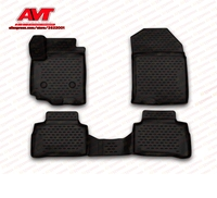 Floor mats for Suzuki Grand Vitara 2005 2015 4 pcs rubber rugs non slip rubber interior car styling accessories