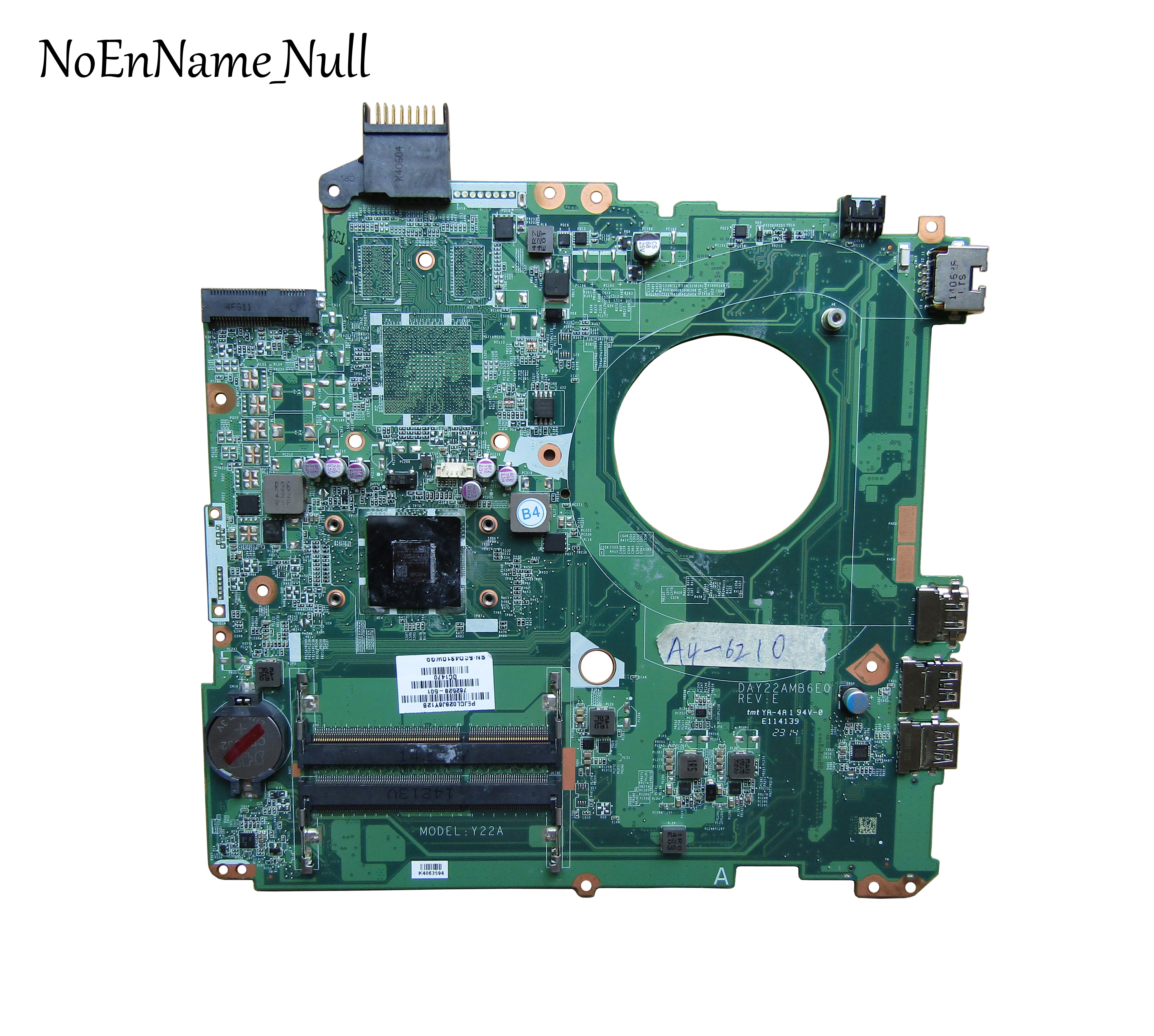 hp pavilion 15-p 778258-501 motherboard mainboard DAY21AMB6D0 A10 CPU working