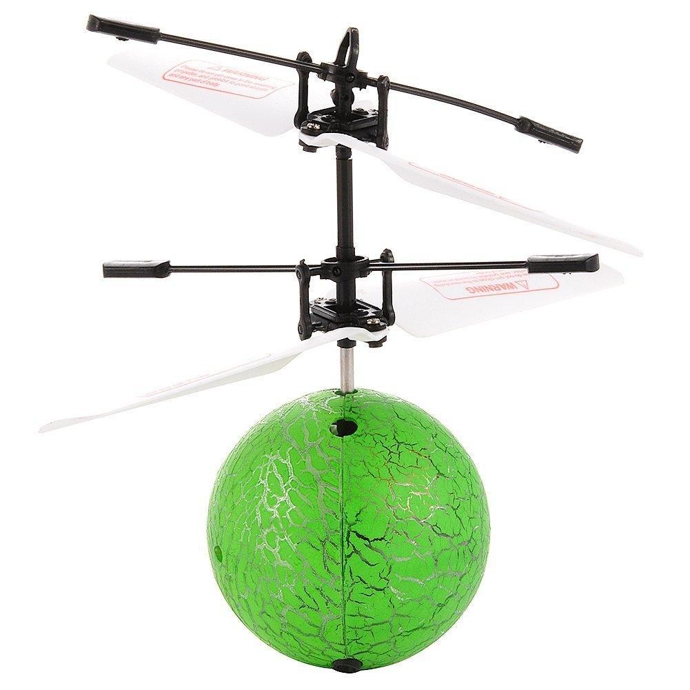 LeadingStar Induction Ball Infrared Sensor Flying Balls Hand Induced Flight LED Light ball Dazzling light Luminous crystal ball