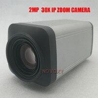 Free Shipping 2MP 1080P HD 30X zoom IP Cam CCTV IP Camera Outdoor IR Bullet Box Camera