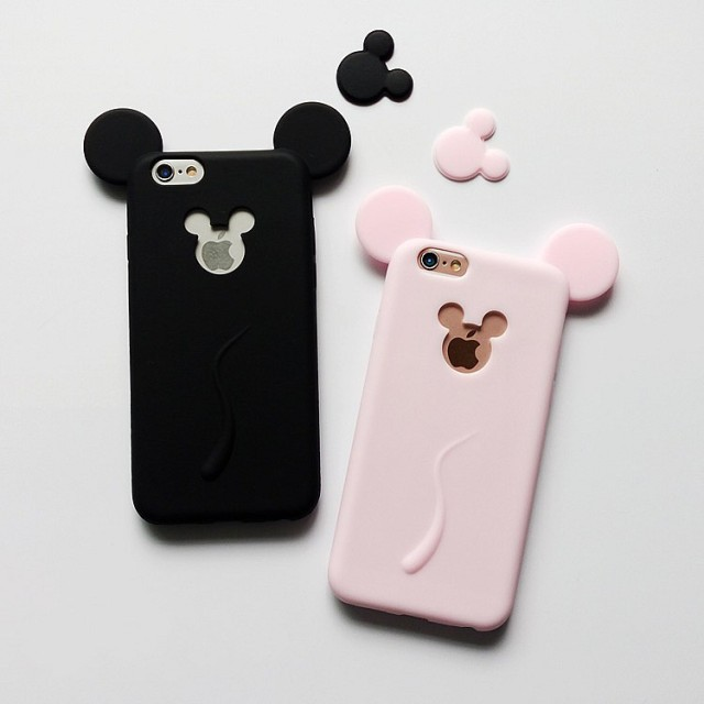 coque iphone 5 mickey silicone