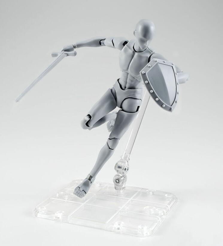 Alta calidad original cuerpo Kun takarai rihito cuerpo Chan Mange figura dibujo DX bjd gris color PVC acción colección modelo juguete