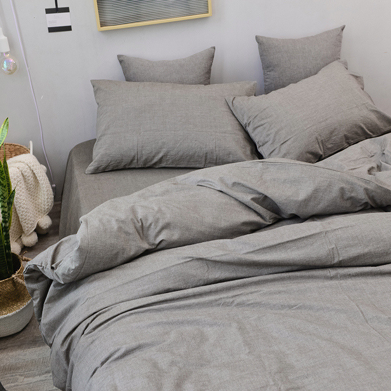 DUVET COVER SET WHITE SOLID TWIN 1000 THREAD COUNT EGYPTIAN COTTON