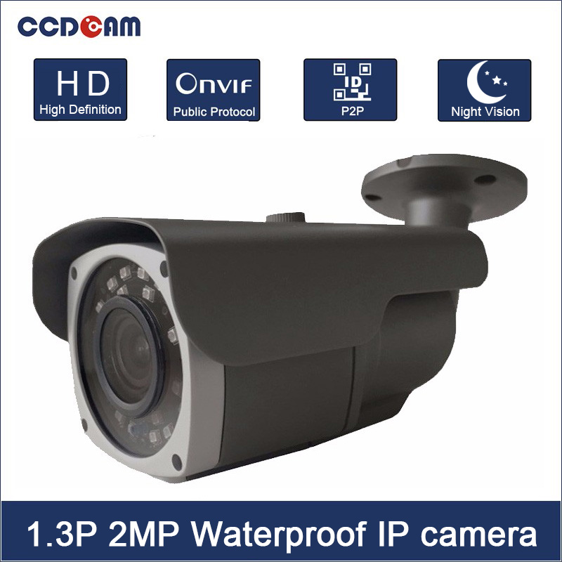 CCDCAM High definition 960P 1080P IP Camera P2P IR Night Vision Onvif Security Camera Outdoor Free ShippingCCDCAM High definition 960P 1080P IP Camera P2P IR Night Vision Onvif Security Camera Outdoor Free Shipping