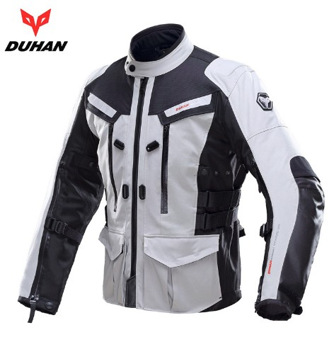 Duhan Mens Motocross Off Road Warm Winter Motorcycle Jacket Jaqueta Motoqueiro Moto Automobile Motosport Reflective
