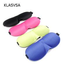 3D 9 Colors Sleep Mask Sleeping Eye Masks Soft Padded Cover Rest Relax Bandage On His Eyes For Sleep Eyepatch Antihrap Blindfold