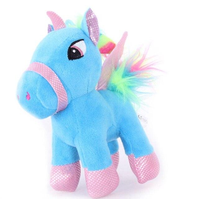 Baby Stuffed Animal Dolls Lovely Cartoon Unicorn Donkey Horse Plush Toys For Kids Toys Children Baby Birthday Christmas Gift