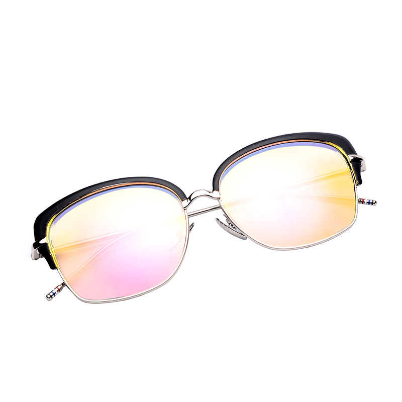 Clearance Sale Items So Cool Oversized Sun Glasses Men Women Brand Designer Sunglass Retro Metal Cat Eye Sunglasses Cheap China