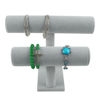 3 уровня-браслет держатель стойки дисплея организатор ювелирные изделия для часы Цепочки и ожерелья браслет хранения стойки подарок для де...