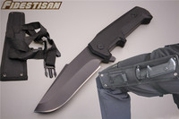 straight knife G10 handle scuba diving flipper military outdoor camping hunting survival tactical navy knifes stainless steel