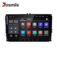 Josmlie Car Multimedia Player 2 din Android 8.1 Car Radio For Skoda Octavia 2 Superb VW Passat B6 Seat LeonT5 Amarok Volkswagen