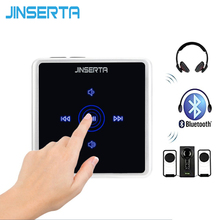 JINSERTA 2-in-1 Bluetooth Transmitter Receiver Wireless Audio Adapter with 3.5mm RCA Cable for Phone Speaker Car MP3 TV Earphone
