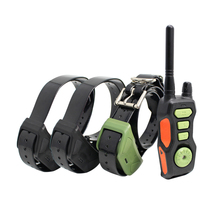 Remote Dog Shock Collar Waterproof & Rechargeable Training Collars with Beep Vibrating Electric Shock Trainer Collar