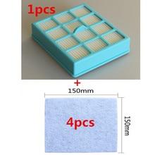 1 шт. пылесос фильтр + 4 шт. защиты двигателя фильтр для Philips fc8146 fc8134 fc8142 fc8136