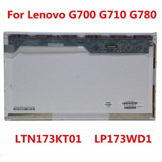 V.4 v.5 b173rw01 v.3 ltn173kt01 ltn173kt02 lp173wd1 tla1 lp173wd1 tln2 n173fge-l21 pantalla lcd del ordenador portátil de lenovo g700 g710 g780