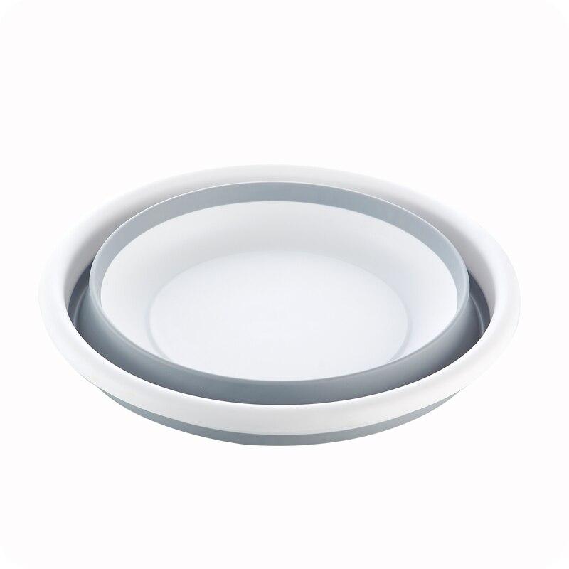 vanzlife creative collapsible portable travel travel washbasin plastic basin household basin soaking basin wash clothes in Plastic Portable Basins from Home Garden