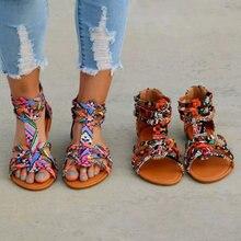 Lady Casual Sandals Shoes Plus Size 35-43 Women Bohemia Colo