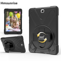 Case For Samsung Tab A 9 7 T550 T555 Kids Safe Shockproof Heavy Duty Silicone Hard