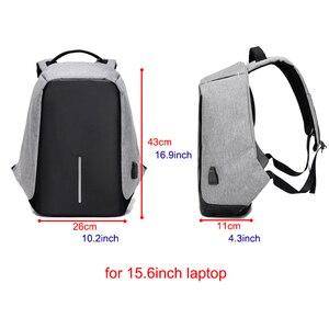 Image 2 - Anti theft Backpack Bag 15.6 Inch Laptop Men Mochila Male Waterproof Back Pack Backbag Large Capacity School Backpack
