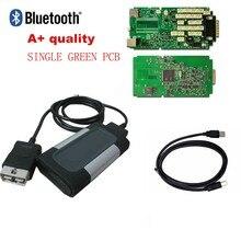 Relé de 100% con Bluetooth para autocome, placa única para VD ds150e cdp pro plus con 2018 R0/2016,0 R3 keygen en cd, novedad de 2015,3