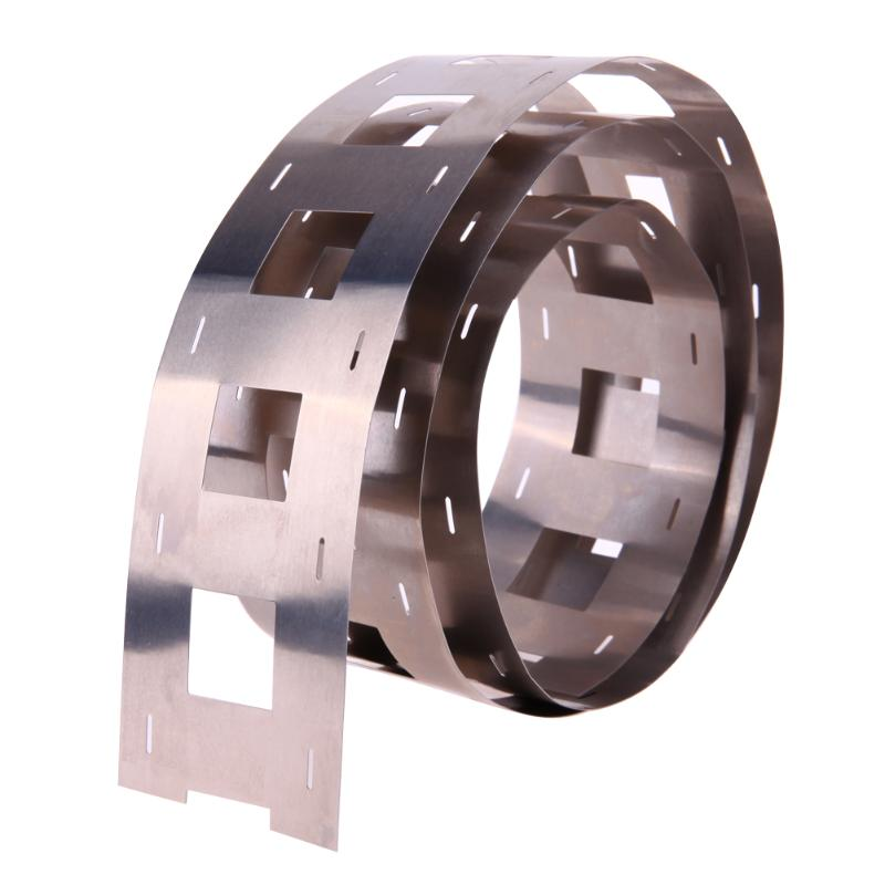 1M 0.2*47.5mm Pure Ni Plate Nickel Strip Tape For 32650 Battery Welding DIY Pack Assembly